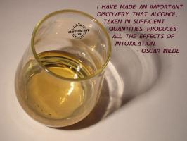 Intoxication quote