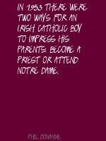 Irish Catholic quote #2