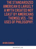 Irwin Edman's quote #1