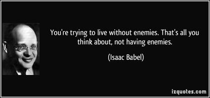 Isaac Babel's quote