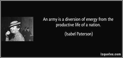 Isabel Paterson's quote
