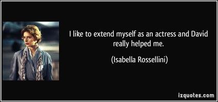 Isabella Rossellini's quote