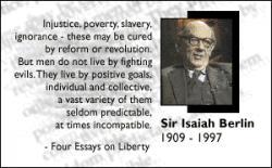 Isaiah Berlin's quote