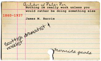 J. M. Barrie's quote #4