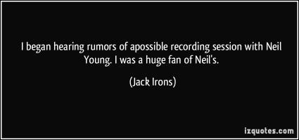 Jack Irons's quote #7