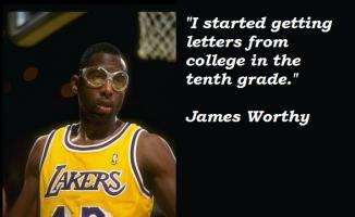 James Worthy's quote