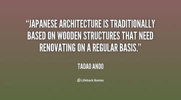 Japanese Architecture quote #2