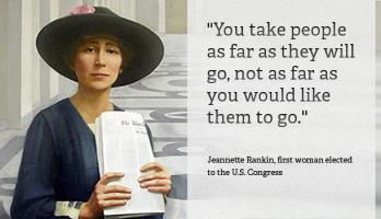 Jeannette Rankin's quote