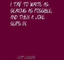 Jeff Lindsay's quote #5