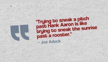 Joe Adcock's quote #1