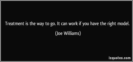 Joe Williams's quote