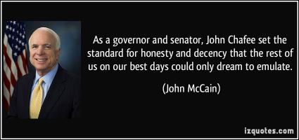 John Chafee's quote