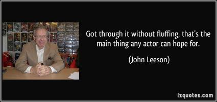 John Leeson's quote #5