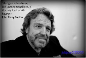 John Perry Barlow's quote