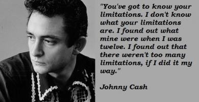 Johnny Cash quote #2