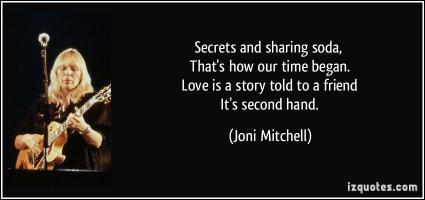 Joni Mitchell quote #2
