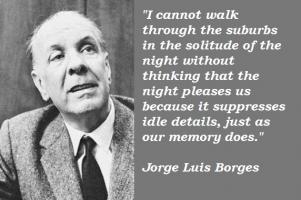 Jorge Luis Borges's quote