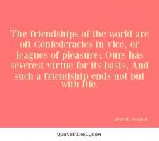 Joseph Addison's quote