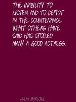 Julia Marlowe's quote #1