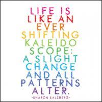 Kaleidoscope quote