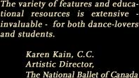 Karen Kain's quote