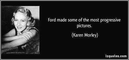 Karen Morley's quote