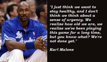 Karl Malone's quote