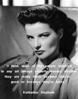 Katharine Hepburn's quote