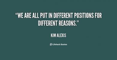 Kim Alexis's quote #4