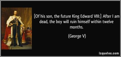 King Edward VIII's quote
