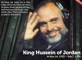 King Hussein I's quote