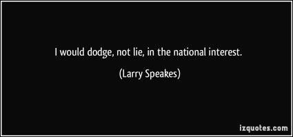 Larry Speakes's quote