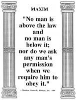 Law quote
