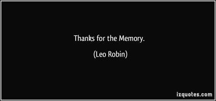 Leo Robin's quote