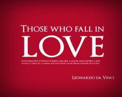Leonardo quote