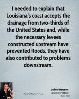 Levees quote #2
