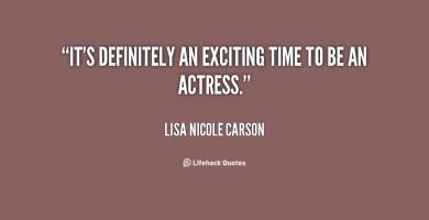 Lisa Nicole Carson's quote #2