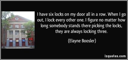 Locking quote #1