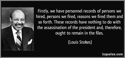 Louis Stokes's quote
