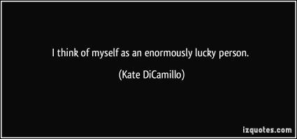 Lucky Person quote #2