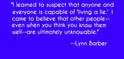 Lynn Barber's quote