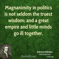 Magnanimity quote #2