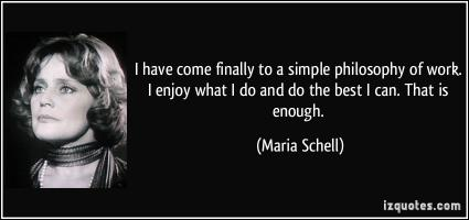 Maria Schell's quote #1