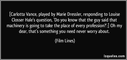 Marie Dressler's quote #4