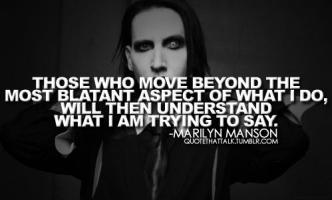 Marilyn Manson quote #2