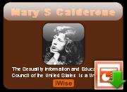 Mary Calderone's quote #1
