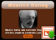 Maurice Baring's quote #1