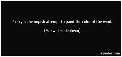 Maxwell Bodenheim's quote