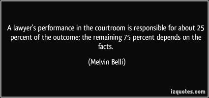 Melvin Belli's quote #1
