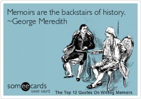 Memoirs quote